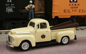 "1948 Ford F1 Pickup ""Canadian National Railways M.O.W. Dept."" (Cream)"
