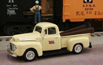 "1948 Ford F1 Pickup ""Lehigh Valley Railroad"" (Cream)"