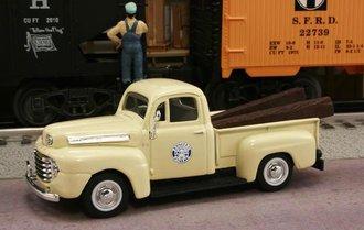 "1948 Ford F1 Pickup ""Southern Pacific Railroad"" (Cream)"