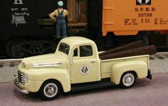 "1948 Ford F1 Pickup ""Virginian Railway"" (Cream)"
