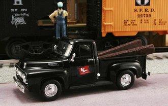 "1953 Ford F-100 Pickup ""Ann Arbor Railroad"" (Black)"