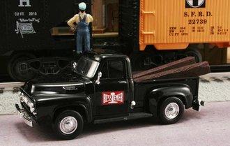 "1953 Ford F-100 Pickup ""Bessemer & Lake Erie Railroad"" (Black)"