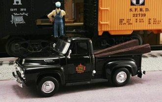 "1953 Ford F-100 Pickup ""Canadian National Railways M.O.W. Dept."" (Black)"