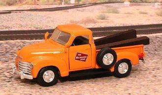 """1953 Chevy 3100 Pickup """"Milwaukee Road"""" (Orange)"""