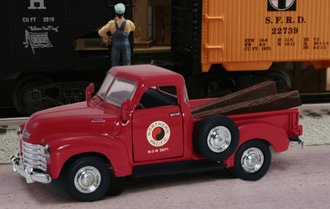"1953 Chevy 3100 Pickup ""Northern Pacific Railroad"" (Red)"