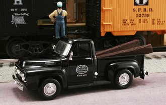 "1953 Ford F-100 Pickup ""New York Central System M.O.W. Dept."" (Black)"