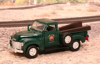 "1953 Chevy 3100 Pickup ""Pennsylvania Railroad"" (Green)"