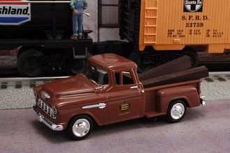 """1955 Chevy Pickup """"Canadian National Railways M.O.W. Dept."""" (Brown)"""
