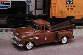 """1955 Chevy Pickup """"Canadian Pacific Railroad"""" (Brown)"""