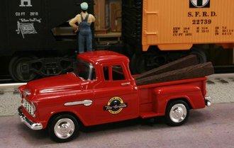 "1955 Chevy Pickup ""Denver & Rio Grande Western Railroad"" (Red)"