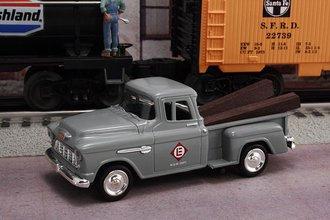 "1955 Chevy Pickup ""Erie Lackawanna Railway M.O.W. Dept."" (Gray)"