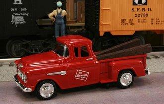 "1955 Chevy Pickup ""Milwaukee Road"" (Red)"