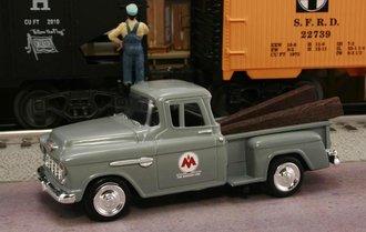 "1955 Chevy Pickup ""Monon Railroad - The Hosier Line"" (Gray)"