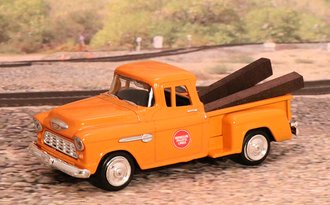 "1955 Chevy Pickup ""Missouri Pacific Railroad"" (Orange)"