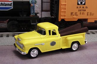 "1955 Chevy Pickup ""New York Central System M.O.W. Dept."" (MOW Yellow)"