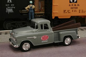 "1955 Chevy Pickup ""New York Central System M.O.W. Dept."" (Gray)"