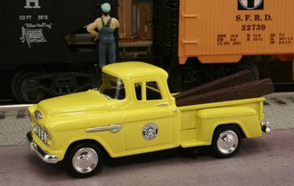 "1955 Chevy Pickup ""Southern Pacific Railroad"" (MOW Yellow)"