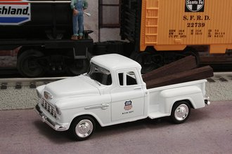 "1955 Chevy Pickup ""Union Pacific M.O.W. Dept."" (White)"