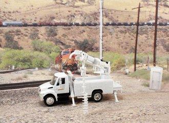 """International Auger Truck """"BNSF Railway"""""""