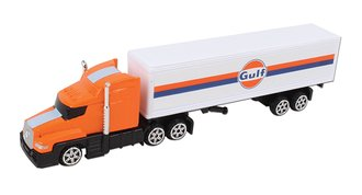 "1:87 Semi Truck ""Gulf Oil"" (Orange)"