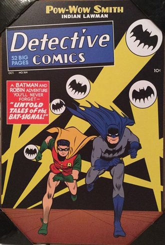 Batman #164 Comic Cover 3D Wood Wall Art