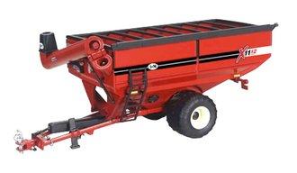 1:64 J&M 1112 Grain Cart (Single Wide Wheels) (Red)