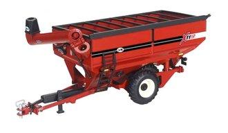 1:64 J&M 1112 Grain Cart (Dual Offset Wheels) (Red)