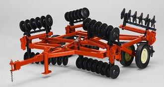 Orange Disc w/Beige Wheels