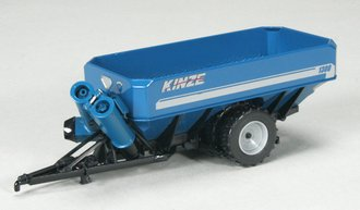 Kinze 1300 Row Crop Tire Grain Cart (Blue)