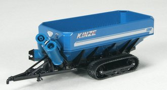Kinze 1200 Track Grain Cart (Blue)