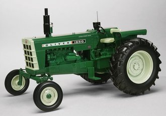 Oliver 1650 Wide Front w/Standard Fenders & Radio (Green)