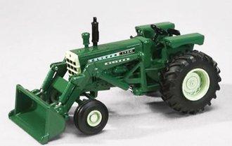 Oliver 1750 Tractor w/Loader (Green)