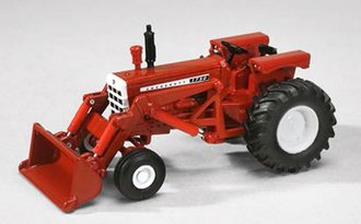 Cockshutt 1750 Tractor w/Loader (Red)