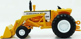 Minneapolis-Moline G940 Tractor w/Loader (Yellow)