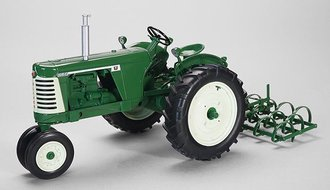 Oliver 660 w/Spring Tooth Harrow