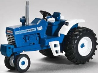 1:64 Ford 9000 Narrow Front Tractor (Blue)