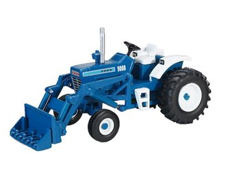 1:64 Ford 9000 Wide Front w/Loader (Blue)
