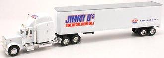 """1:64 Peterbilt 379 w/Van Trailer """"Jimmy D's Express"""""""