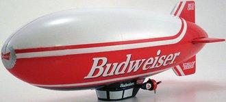 "Blimp ""Budweiser - Bud One"" Airship"