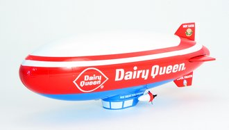 1:64 Dairy Queen Blimp Replica (Bank)