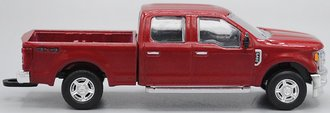 1:64 Ford F-350 Pickup Super Duty Pickup (Ruby Red)