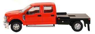 1:64 Ford F-250 Flatbed (Red)