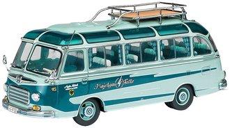 """1:32 Setra S6 Traveling Bus """"Kraichgau Hawk"""""""