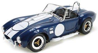 1965 Shelby Cobra 427 S/C (Blue w/White Stripes) w/Carroll Shelby Signature