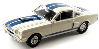 1966 Shelby GT350 (White w/Blue Stripes)