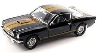"1966 Shelby GT350H w/Racing Wheels ""Hertz"" (Black/Gold)"