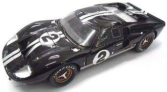 "1966 Ford GT-40 MK II ""LeMans #2"" (Black w/White Stripes)"