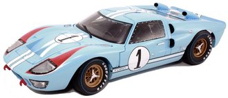 "1966 Ford GT-40 MK II ""LeMans #1"" (Gulf Blue w/White Stripes)"