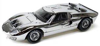 1:18 1966 Ford GT-40 MK II (Chrome) (1 of 500)