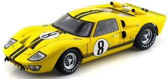 1:18 1966 Ford GT-40 Le Mans 24 Hours (#8)